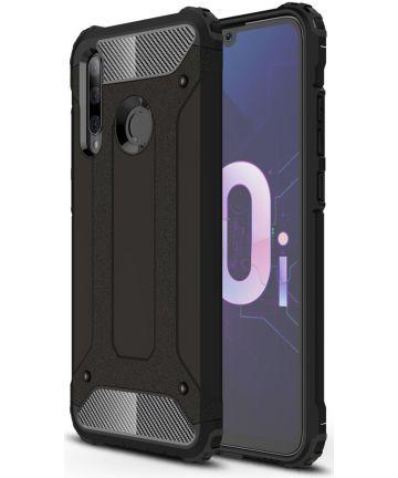 Huawei P Smart Plus 2019 Hybride Hoesje Zwart Hoesjes