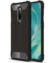 OnePlus 7 Pro Hybride Hoesje Zwart