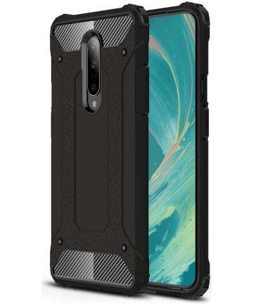 OnePlus 7 Pro Hybride Hoesje Zwart Hoesjes