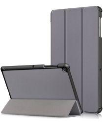 Samsung Galaxy Tab S5e Hoes Tri-Fold Grijs