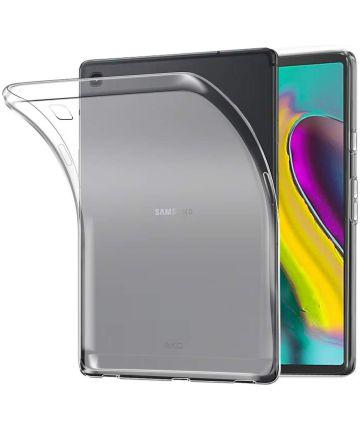 Samsung Galaxy Tab S5e TPU Hoes Transparant Hoesjes