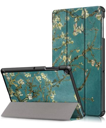 Samsung Galaxy Tab S5e Hoes Tri-Fold met Wintersweet Print Hoesjes