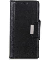 Samsung Galaxy A40 Portemonnee Stand Hoesje Zwart
