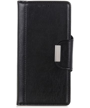 Samsung Galaxy A40 Portemonnee Stand Hoesje Zwart Hoesjes