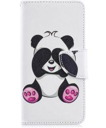 Samsung Galaxy A40 Portemonnee Print Hoesje Panda