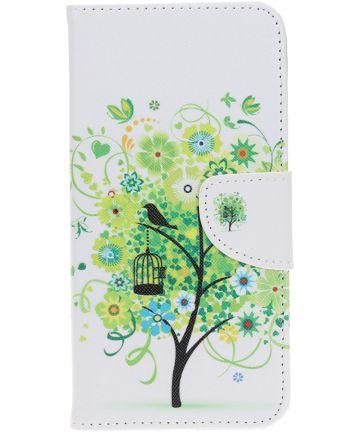 Samsung Galaxy A70 Portemonnee Print Hoesje Tree Hoesjes