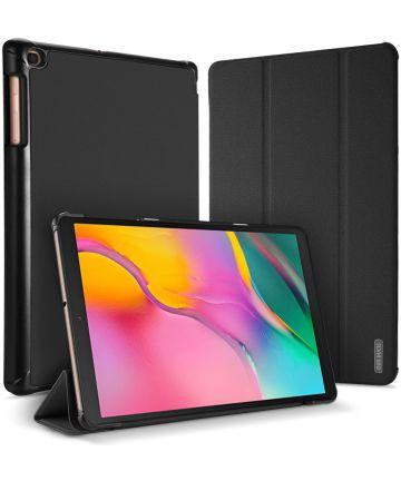 Dux Ducis Samsung Galaxy Tab A 10.1 (2019) Tri-fold Hoes Zwart Hoesjes