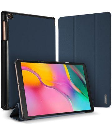Dux Ducis Samsung Galaxy Tab A 10.1 (2019) Tri-fold Hoes Blauw Hoesjes