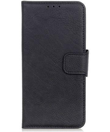 Samsung Galaxy A40 Portemonnee Hoesje Zwart Hoesjes