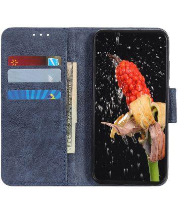 Samsung Galaxy A40 Portemonnee Hoesje Blauw Hoesjes