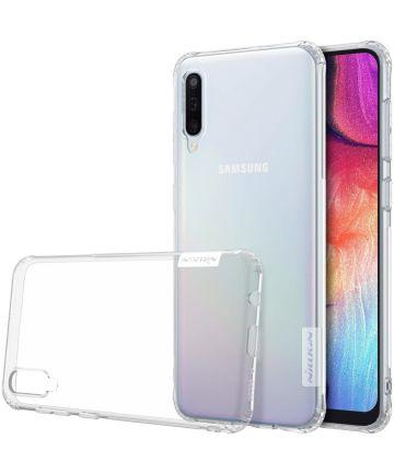 Nillkin Nature Soft TPU Samsung Galaxy A50 Hoesje Transparant Hoesjes