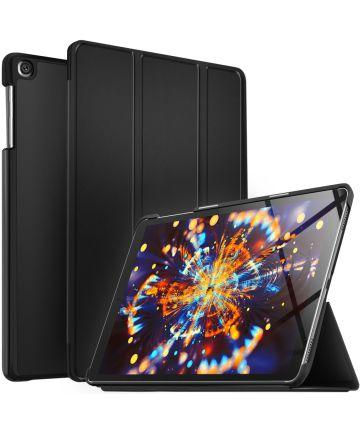 Samsung Galaxy Tab A 10.1 (2019) Tri-fold Hoes Zwart Hoesjes