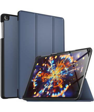 Samsung Galaxy Tab A 10.1 (2019) Tri-fold Hoes Blauw Hoesjes