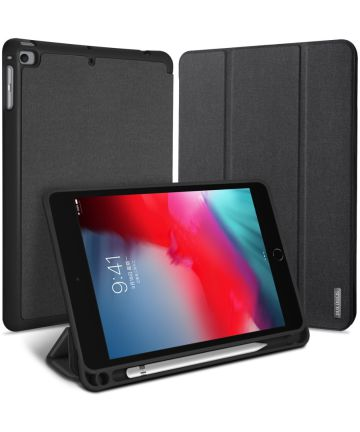 Dux Ducis Domo Series Apple iPad Mini 5 (2019) Tri-fold Hoes Zwart Hoesjes
