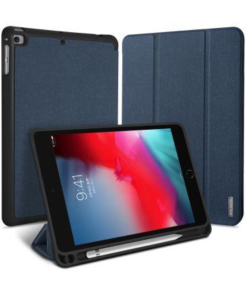 Dux Ducis Domo Series Apple iPad Mini 5 (2019) Tri-fold Hoes Blauw Hoesjes