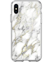 Spigen Ciel by Cyrill Cecile Apple iPhone XS / X Hoesje Glossy Marble