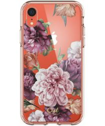 Spigen Ciel by Cyrill Cecile Apple iPhone XR Hoesje Rose Floral