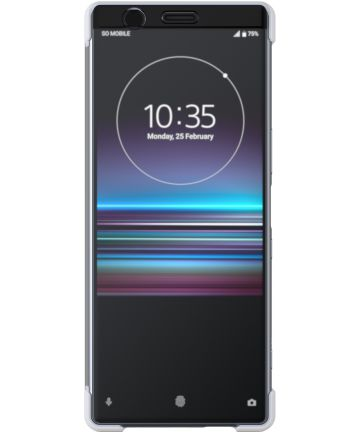 Sony Style Cover Touch Sony Xperia 1 Wit Hoesjes