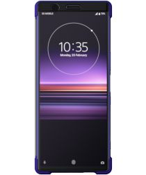 Sony Style Cover Touch Sony Xperia 1 Paars