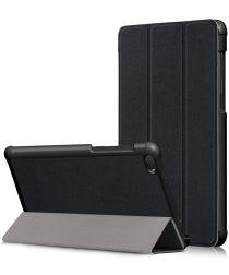 Lenovo Tab E7 Tri-Fold Hoes Zwart