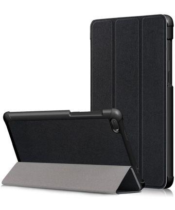 Lenovo Tab E7 Tri-Fold Hoes Zwart Hoesjes