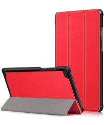 Lenovo Tab E8 Tri-Fold Hoes Rood