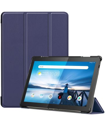 Lenovo Tab M10 Tri-Fold Hoes Blauw Hoesjes