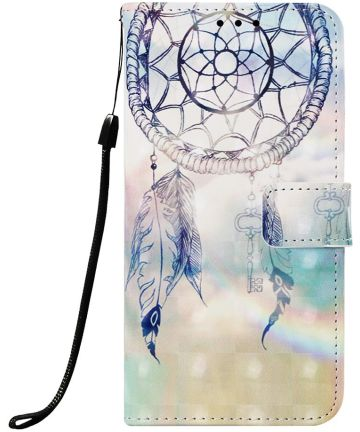 Samsung Galaxy A50 Book Case Hoesje Wallet met Dromenvanger Print Hoesjes
