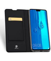 Dux Ducis Skin Pro Series Flip Hoesje Huawei P Smart Plus (2019) Zwart