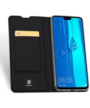 Dux Ducis Skin Pro Series Flip Hoesje Huawei P Smart Plus (2019) Zwart Hoesjes