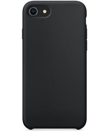 Apple iPhone 7/8 Siliconenhoesje Zwart Hoesjes