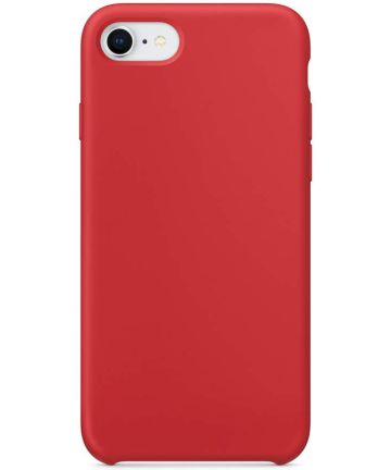 Apple iPhone 7/8 Siliconenhoesje Rood