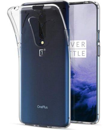OnePlus 7 Pro Hoesje Dun TPU Transparant