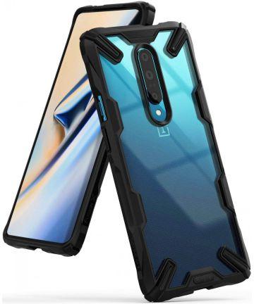 Ringke Fusion X OnePlus 7 Pro Hoesje Zwart Hoesjes