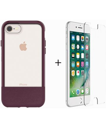 Otterbox Duo Case iPhone 7 / 8 Hoesje + Alpha Glass Rood