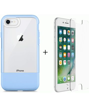 Otterbox Duo Case iPhone 7 / 8 Hoesje + Alpha Glass Sky Blue
