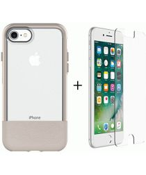 Otterbox Duo Case iPhone 7 / 8 Hoesje + Alpha Glass Beige