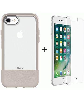Otterbox Duo Case iPhone 7 / 8 Hoesje + Alpha Glass Beige