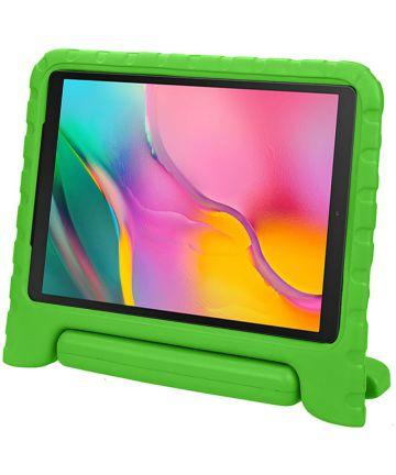Samsung Galaxy Tab A 10.1 (2019) Kinder Tablethoes met Handvat Groen