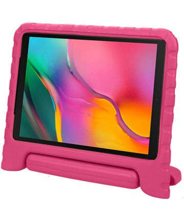 Samsung Galaxy Tab A 10.1 (2019) Kinder Tablethoes met Handvat Roze