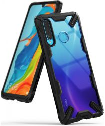 Ringke Fusion X Huawei P30 Lite Hoesje Zwart
