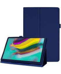 Samsung Galaxy Tab S5e Two-Fold Book Hoes Blauw