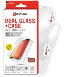 Displex 2D Real Glass + Case Apple iPhone 8 / 7 360° Protection Kit