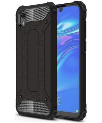 Huawei Y5 (2019) Hybride Hoesje Zwart