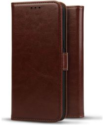 Rosso Element Huawei P20 Lite (2019) Hoesje Book Cover Bruin