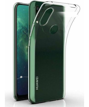 Huawei P Smart Z Hoesje Dun TPU Transparant Hoesjes