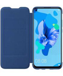 Originele Huawei P20 Lite (2019) Wallet Cover Blauw