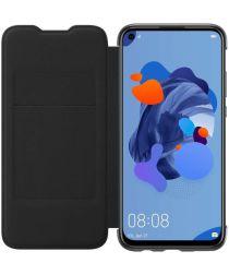 Originele Huawei P20 Lite (2019) Wallet Cover Zwart