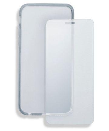 4smarts Tempered Glass en TPU Hoesje Xiaomi Mi A2 Transparant Hoesjes