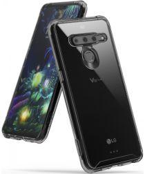 Ringke Fusion LG V50 ThinQ Hoesje Transparant Zwart